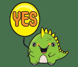Cutest dinosaur pack sticker #1087207