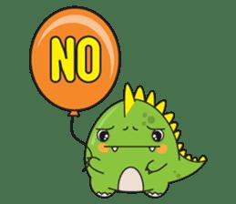 Cutest dinosaur pack sticker #1087208