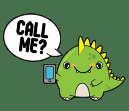 Cutest dinosaur pack sticker #1087210