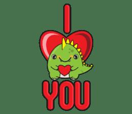 Cutest dinosaur pack sticker #1087214