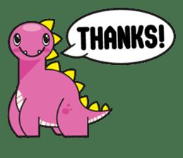 Cutest dinosaur pack sticker #1087215
