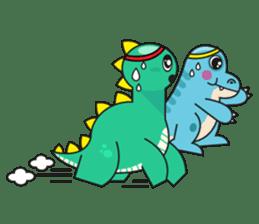 Cutest dinosaur pack sticker #1087219