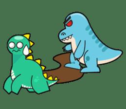 Cutest dinosaur pack sticker #1087224