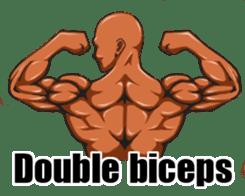 Muscle Sticker sticker #1087589