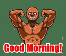 Muscle Sticker sticker #1087598