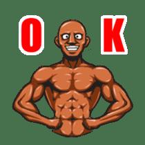 Muscle Sticker sticker #1087599