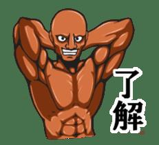 Muscle Sticker sticker #1087604