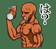 Muscle Sticker sticker #1087618