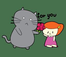Cat Berm & Tidkib sticker #1087746