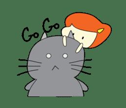 Cat Berm & Tidkib sticker #1087747
