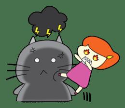 Cat Berm & Tidkib sticker #1087749