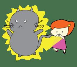 Cat Berm & Tidkib sticker #1087750