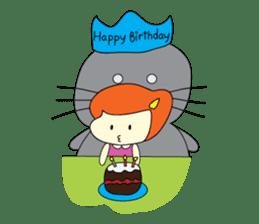 Cat Berm & Tidkib sticker #1087751