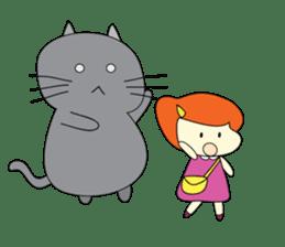 Cat Berm & Tidkib sticker #1087753