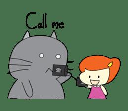 Cat Berm & Tidkib sticker #1087754