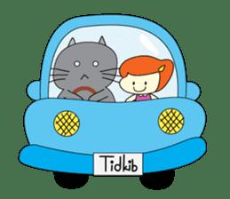 Cat Berm & Tidkib sticker #1087756