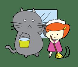 Cat Berm & Tidkib sticker #1087757