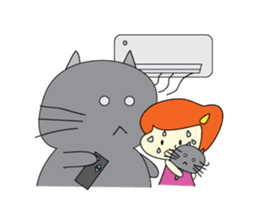 Cat Berm & Tidkib sticker #1087760