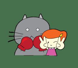 Cat Berm & Tidkib sticker #1087764