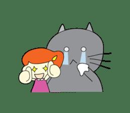 Cat Berm & Tidkib sticker #1087767