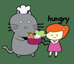 Cat Berm & Tidkib sticker #1087768