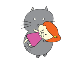 Cat Berm & Tidkib sticker #1087770