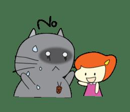 Cat Berm & Tidkib sticker #1087776