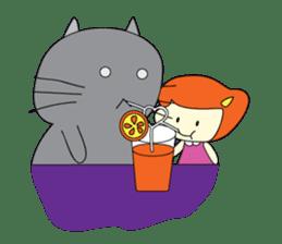 Cat Berm & Tidkib sticker #1087777