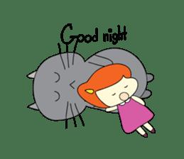 Cat Berm & Tidkib sticker #1087778