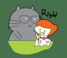 Cat Berm & Tidkib sticker #1087780