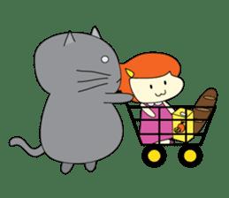 Cat Berm & Tidkib sticker #1087781