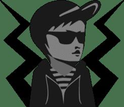 sunglasses people vol.3 sticker #1087899