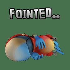 Zeezee, the funny parrot sticker #1088991