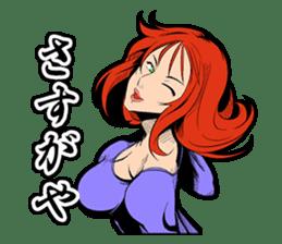 SUPER HERO KANSAI sticker #1089989