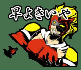 SUPER HERO KANSAI sticker #1089992