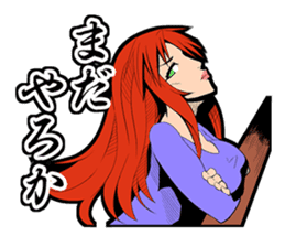 SUPER HERO KANSAI sticker #1090002