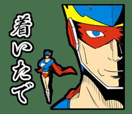 SUPER HERO KANSAI sticker #1090003