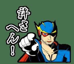 SUPER HERO KANSAI sticker #1090013