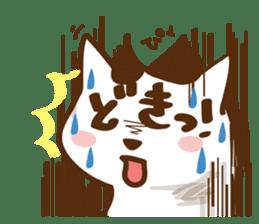 wig cat --ZURA NEKO-- sticker #1090426