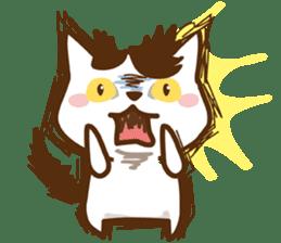 wig cat --ZURA NEKO-- sticker #1090429