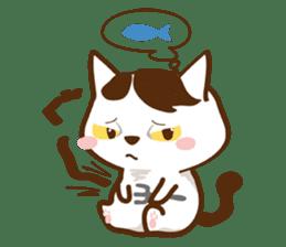 wig cat --ZURA NEKO-- sticker #1090445