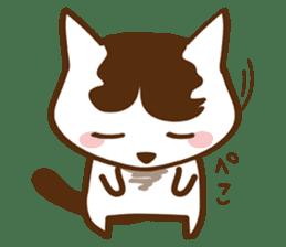 wig cat --ZURA NEKO-- sticker #1090448