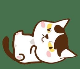 wig cat --ZURA NEKO-- sticker #1090452