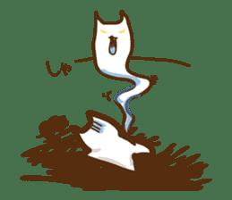 wig cat --ZURA NEKO-- sticker #1090457
