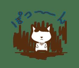 wig cat --ZURA NEKO-- sticker #1090459