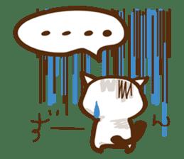 wig cat --ZURA NEKO-- sticker #1090460