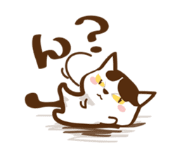 wig cat --ZURA NEKO-- sticker #1090462