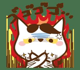wig cat --ZURA NEKO-- sticker #1090464
