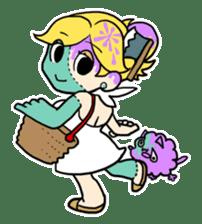 CELEB ZOMBIE GIRL! sticker #1091764