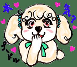 Healing dogs from fairy tale sticker #1092551